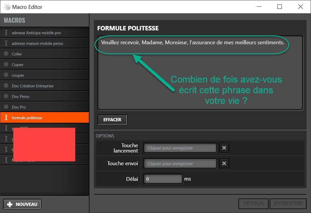 Macro pour clavier OMEN by HP