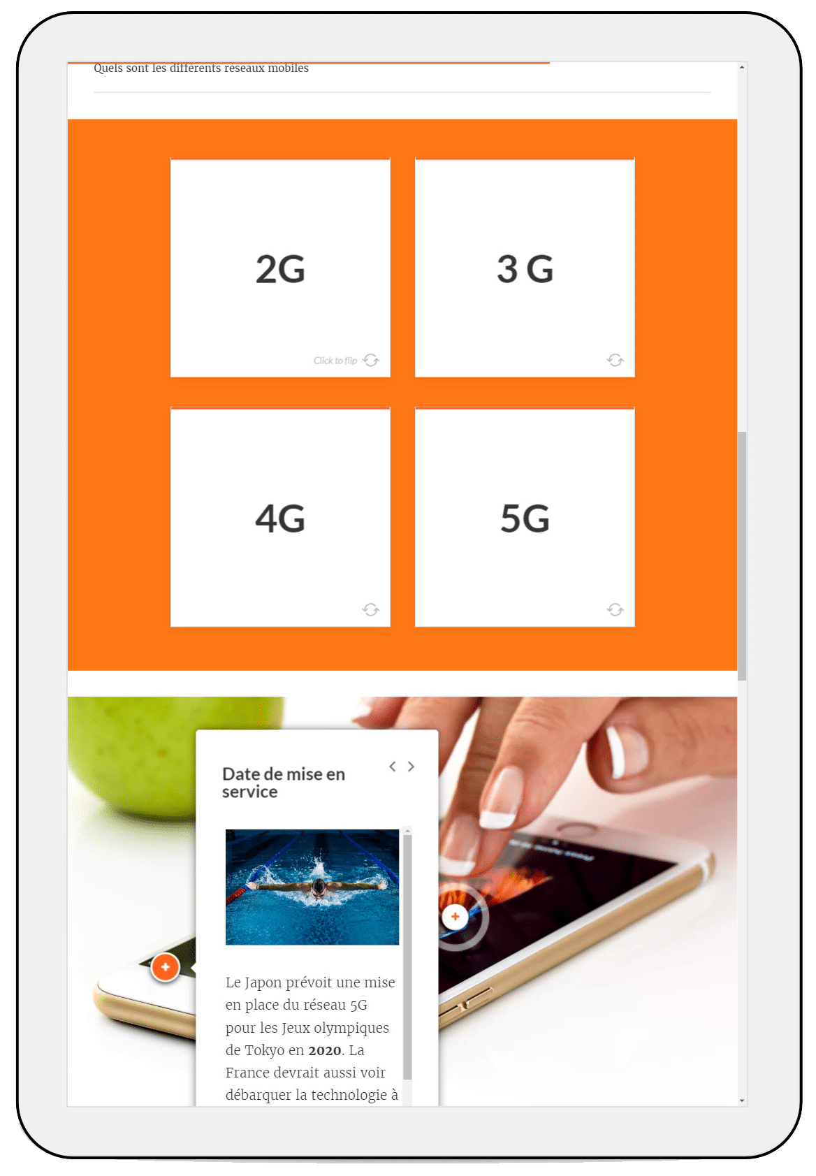 les offres de mise en service du réseau mobile 5G